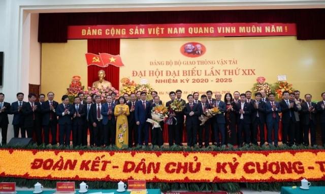 Thứ trưởng Lê Anh Tuấn được bầu là Bí thư Đảng ủy Bộ Giao thông vận tải