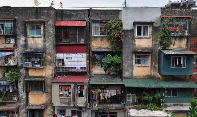 Bàn cách cải tạo chung cư cũ tại Hà Nội