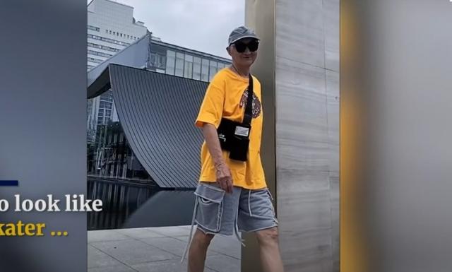 Cụ ông 83 tuổi mặc quá 'chất' khiến thanh niên 'phát cuồng'