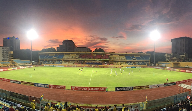 Sân vận động Hàng Đẫy không đảm bảo tiến độ phục vụ SEA Games 31