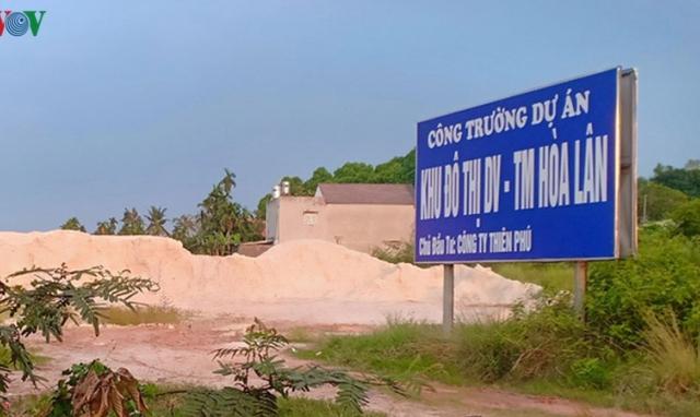 Lại hoãn xử vụ kiện dự án Hòa Lân