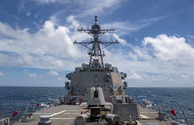 Mỹ tính trang bị tên lửa siêu thanh lên chiến hạm đối phó Trung Quốc