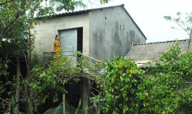 Hiệu quả nhà tránh lũ ở Hà Tĩnh