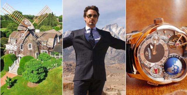 """Những """"thú vui"""" xa xỉ của """"Người sắt"""" Robert Downey Jr."""
