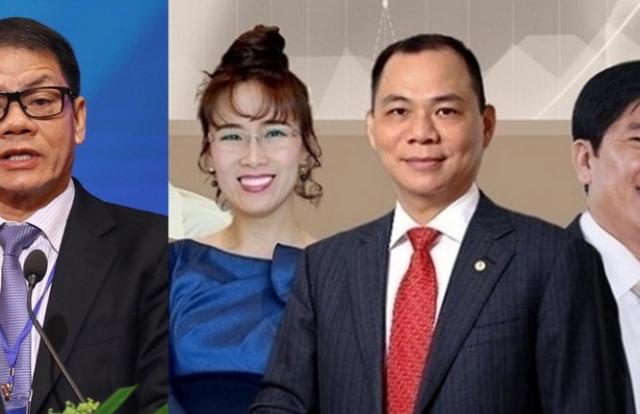 10 người giàu nhất sàn chứng khoán Việt: Hoán vị xếp hạng vì COVID -19