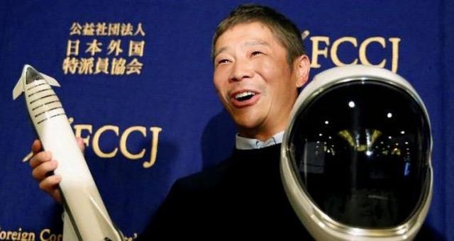 Tỷ phú Nhật Bản chi tiền mời 8 người cùng bay lên Mặt Trăng