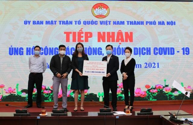 Báo Pháp luật Việt Nam tiếp thêm nguồn lực phòng chống dịch Covid-19 tại nhiều tỉnh, đơn vị