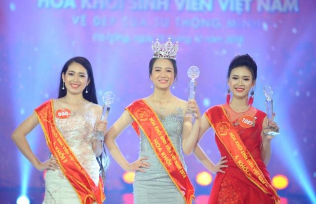 Nhan sắc tươi tắn thu hút mọi ánh nhìn của tân Hoa khôi sinh viên Việt Nam