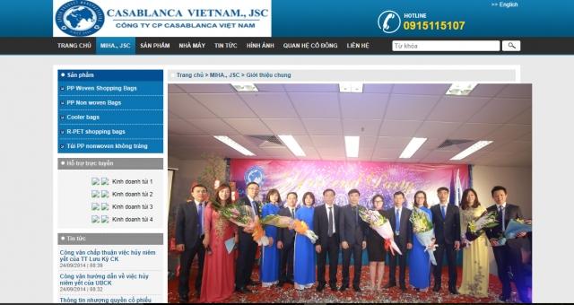 CTCP Casablanca Việt Nam mắc hàng loạt sai phạm về thuế