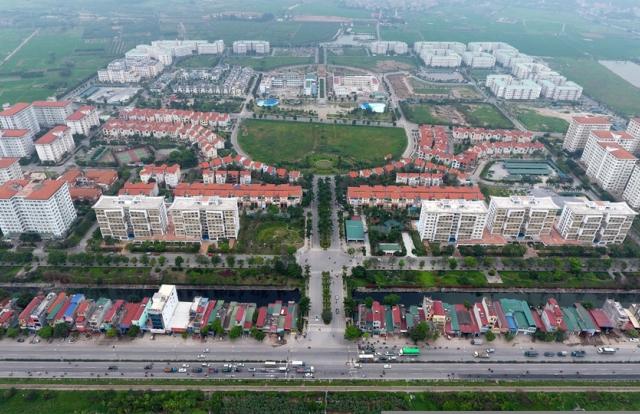 Tiếp tục hoàn thiện GCN quyền sử dụng đất cho cư dân Khu đô thị Đặng Xá