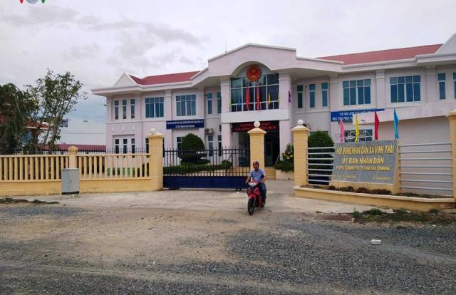 Trụ sở UBND xã Vĩnh Thái (Khánh Hòa) vừa sử dụng đã xuống cấp