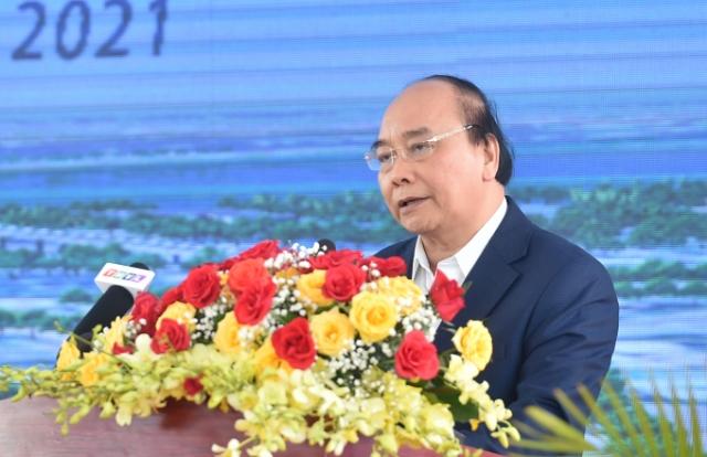 Thủ tướng dự lễ khởi công cao tốc Mỹ Thuận – Cần Thơ và lễ thông tuyến kỹ thuật cao tốc Trung Lương – Mỹ Thuận