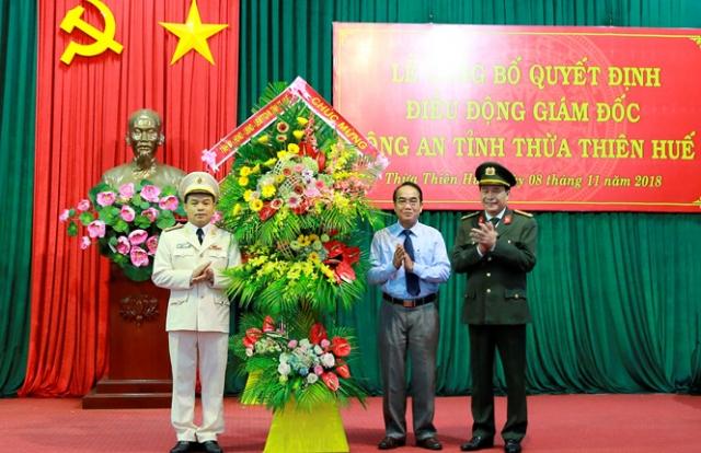 Phó Tư lệnh Cảnh sát cơ động làm Giám đốc Công an tỉnh Thừa Thiên Huế