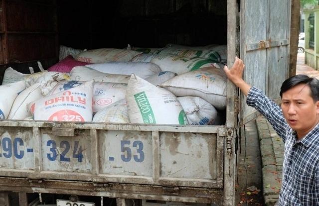 Hà Nội: Bắt giữ hơn 5 tấn mỡ động vật đang trên đường đi tiêu thụ