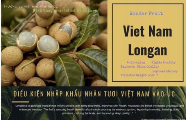 Cơ hội cho nhãn Việt Nam tại thị trường Úc