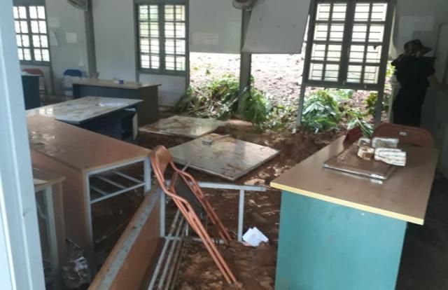 Huyện Mai Sơn (Sơn La): Mưa lớn gây lũ quét, sạt lở đất nhấn chìm UBND xã Tà Hộc