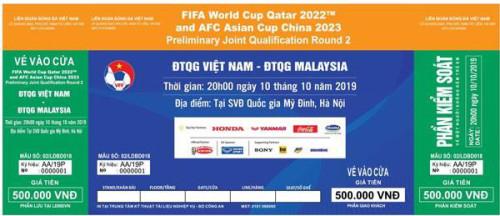 Vừa mở bán vé online trận VL World Cup 2022 trận đấu giữa đội tuyển Việt Nam - Malaysia đã hết bay
