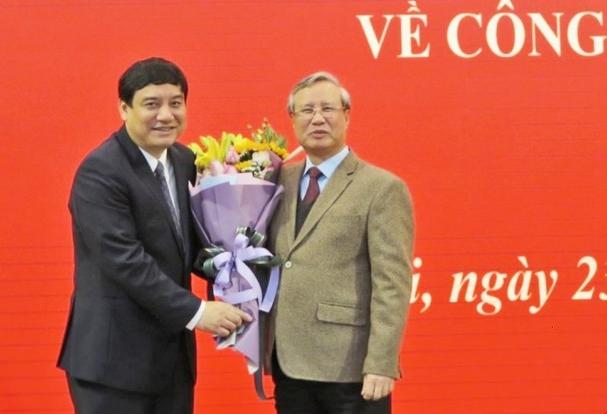 Bí thư tỉnh ủy Nghệ An được điều động bổ nhiệm giữ chức Phó chánh Văn phòng trung ương đảng