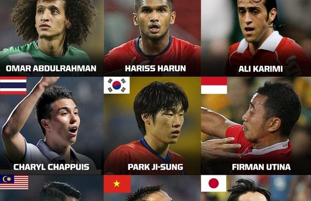 Văn Quyết vào top 9 tiền vệ hay nhất châu Á do Fox Sports Asia bình chọn