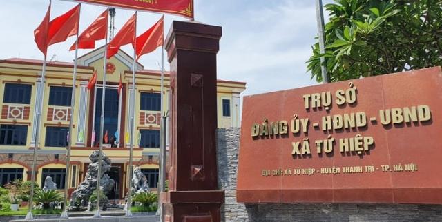 """Hà Nội: UBND xã Tứ Hiệp có đang """"chỉ đường"""" cho xưởng sản xuất hành dân hợp thức hoá sai phạm!?"""