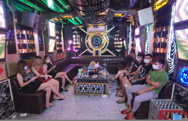 Thái Nguyên: Đình chỉ hoạt động quán Karaoke hoạt động chui giữa mùa dịch