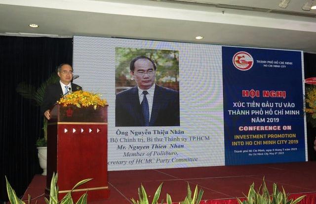 """Bí thư Nguyễn Thiện Nhân: """"Mong các doanh nghiệp đến với TPHCM bằng khối óc và trái tim"""""""