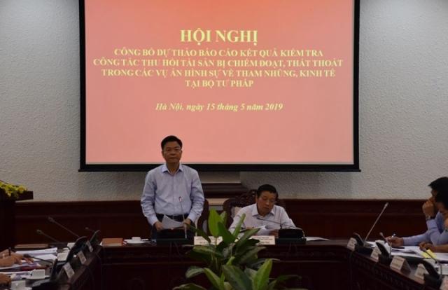 Chủ động phối hợp thu hồi tài sản trong các vụ án tham nhũng, kinh tế