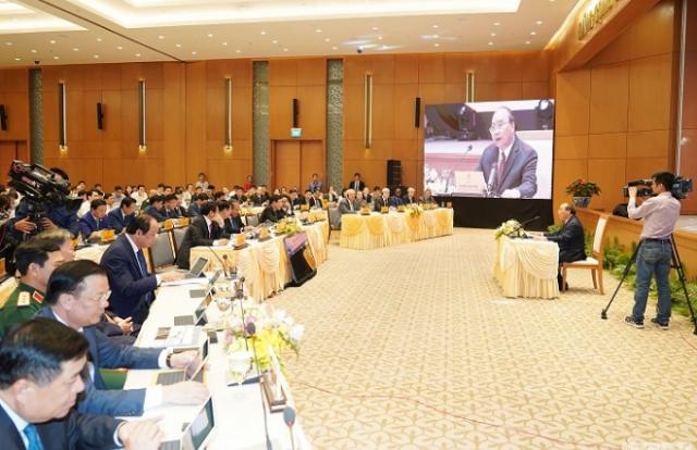 Thủ tướng chủ trì phiên họp Chính phủ đầu tiên qua hệ thống e-Cabinet