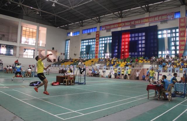 Giải Cầu lông toàn quốc Báo Thanh tra lần thứ 16 chính thức khởi tranh