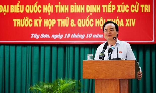 Bộ trưởng Phùng Xuân Nhạ: Không được ép phụ huynh đóng tiền đầu năm học