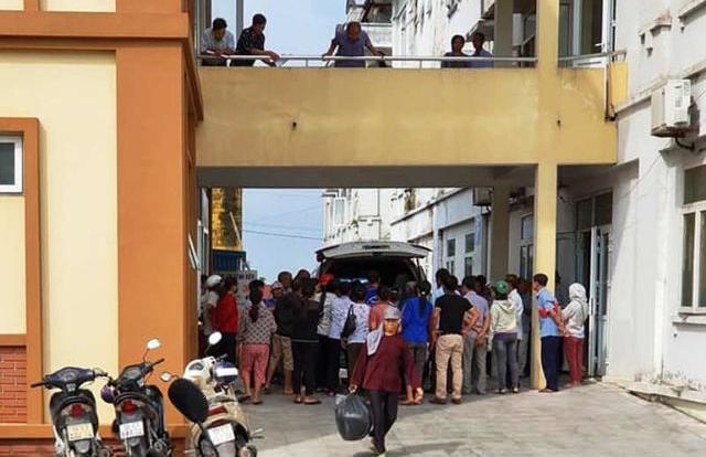 Nam Định: Công nhân lại tiếp tục buồn nôn, chóng mặt sau khi làm việc trở lại