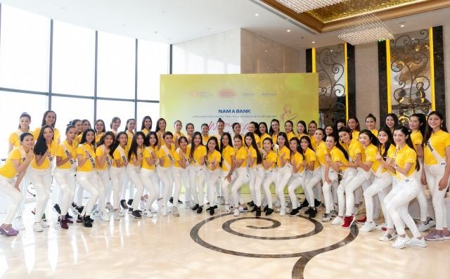 Nam A Bank tư vấn kỹ năng xây dựng doanh nghiệp xã hội cho Top 60 Hoa hậu Hoàn vũ Việt Nam 2019