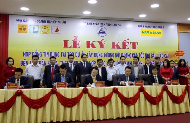 Nam A Bank cấp tín dụng dự án xây dựng đường nối cao tốc Nội Bài - Lào Cai đến thị trấn Sa Pa