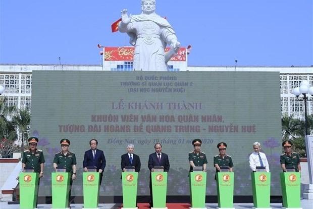 Đồng Nai: Thủ tướng Nguyễn Xuân Phúc thăm Trường Đại học Nguyễn Huệ