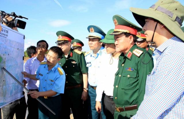 Thứ trưởng Bộ Quốc phòng làm việc với tỉnh Bình Thuận về dự án Cảng hàng không Phan Thiết