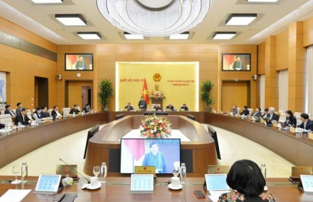 Hoãn phiên họp 43 của Uỷ ban Thường vụ Quốc hội