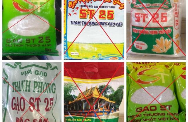 Gạo giả mạo thương hiệu ST25 tràn lan trên thị trường: Cần chế tài xử lý mạnh mẽ!