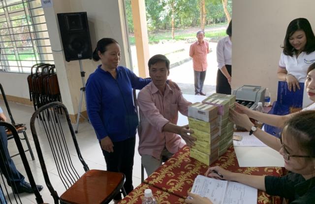 104 hộ dân nhận hơn 193 tỉ đồng tiền đền bù