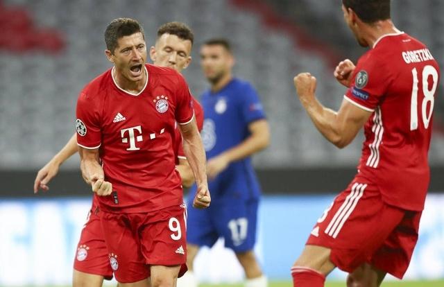 Bayern Munich 4-1 Chelsea: Dấu ấn lớn từ Lewandowski