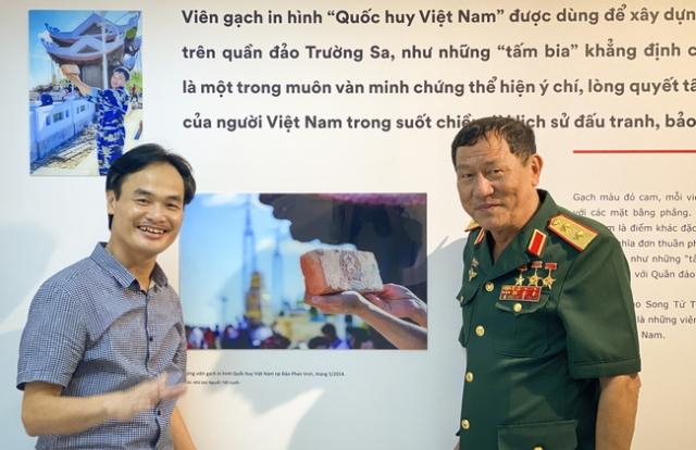 Tình yêu biển quê hương của Nhà báo Nguyễn Tiến Luyến qua từng góc máy