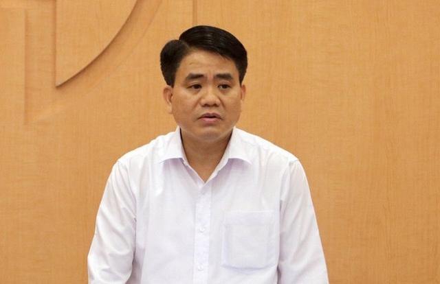 Bãi nhiệm chức danh Chủ tịch UBND TP Hà Nội đối với ông Nguyễn Đức Chung