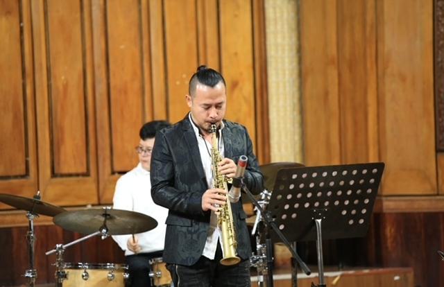 """Nghệ sĩ saxophone Lê Duy Mạnh: """"Văn hoá jazz thắt chặt nền văn hoá"""""""