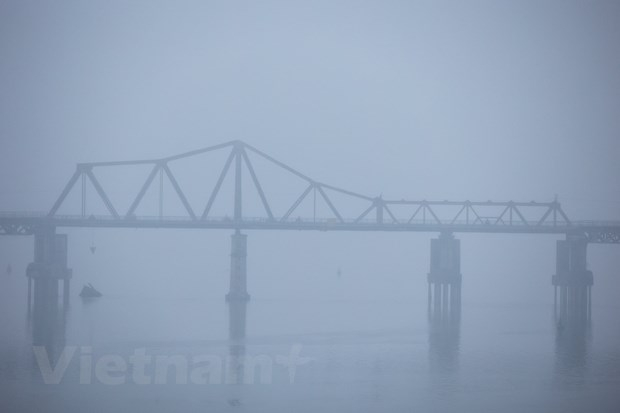 Miền Bắc mưa phùn kèm sương mù về đêm và sáng trong dịp cuối tuần