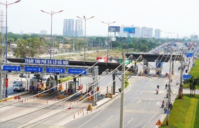 Xa lộ Hà Nội sắp thu phí trở lại