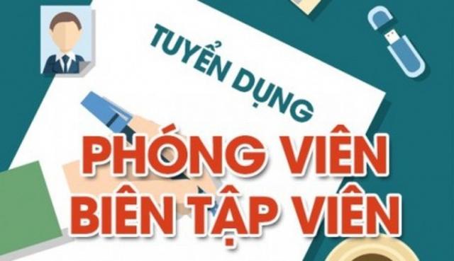 Tạp chí Nghenghiepcuocsong.vn tuyển dụng phóng viên