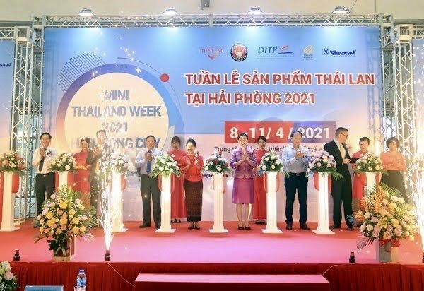 Khai mạc Tuần lễ sản phẩm Thái Lan 2021 tại Hải Phòng