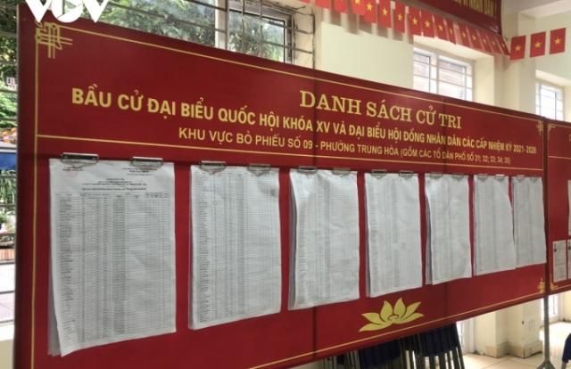 Hà Nội sẵn sàng bầu cử trong điều kiện có dịch