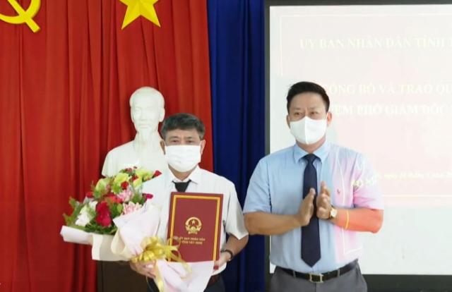Tây Ninh bổ nhiệm Phó Giám đốc Sở Tư pháp