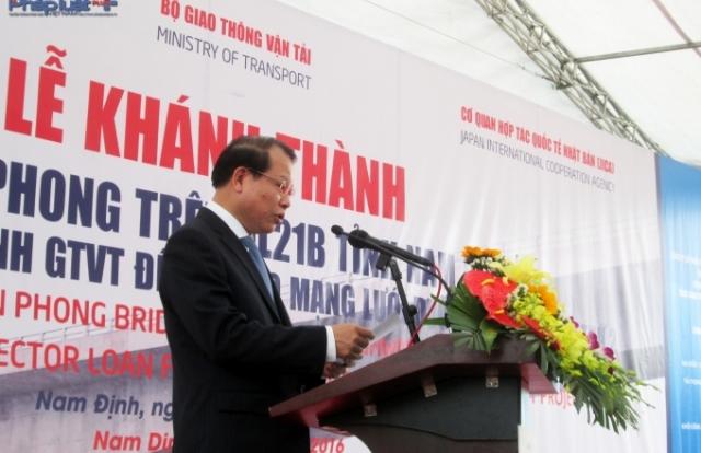 Nam Định: Cầu Tân Phong, nút thắt giao thông liên vùng được giải toả
