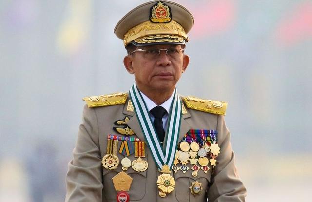Thống tướng Myanmar công du sau đảo chính